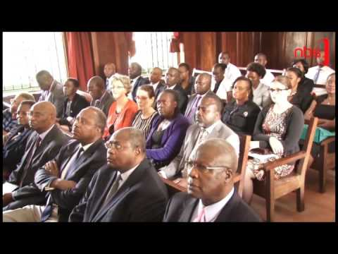 Justice Bart Katureebe: Children to Testify in Courts Via New Audio – Visual System