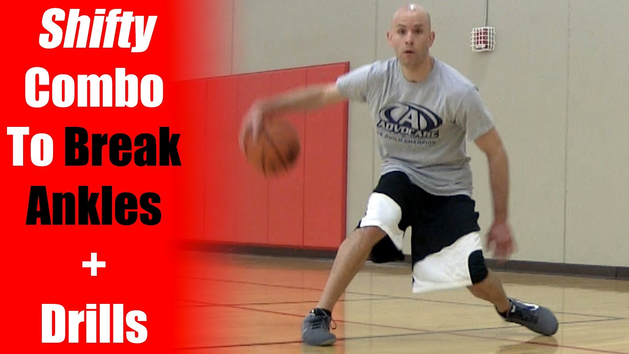 Shifty Combo How To Break Ankles In Basketball! Basketball Moves  Youtube
