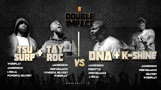 TSU SURF/ TAY ROC VS K SHINE/ DNA SMACK/ URL RAP BATTLE | URLTV