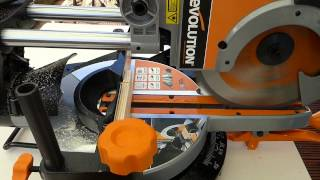 Review Of The Rage 3 Evolution Multipurpose Sliding Compound Mitre Saw With Laser