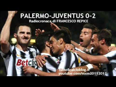 PALERMO-JUVENTUS 0-2 – Radiocronaca di Francesco Repice (7/4/2012) da Radiouno RAI