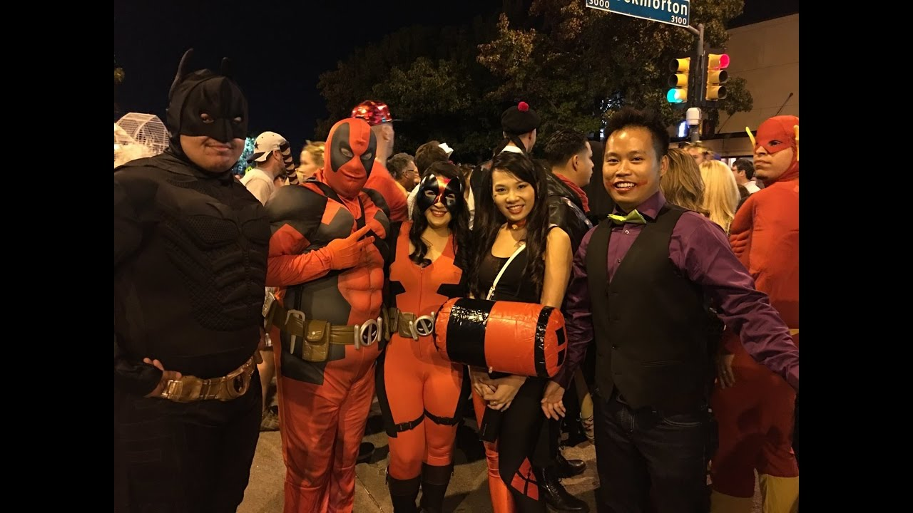 oaklawn halloween block party parade dallas 2016 - Dallas Halloween Parade
