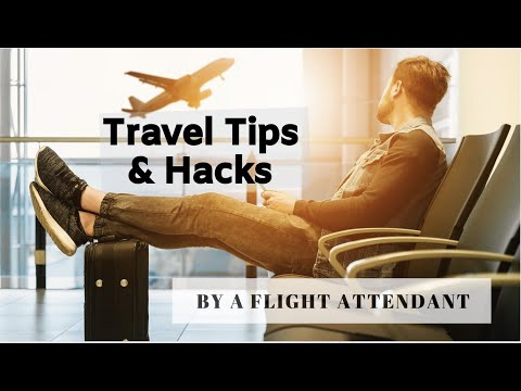 HOLIDAY TRAVEL TIPS BY A FLIGHT ATTENDANT