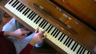How to REALLY Play Let it be on Piano Lesson Tutorial Beatles PART 1