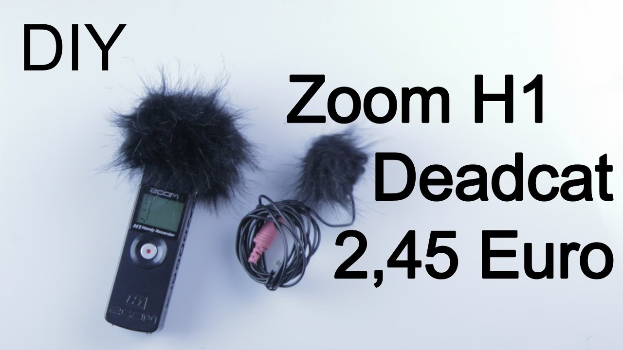 zoom h1 deadcat windschutz deadkitten f r 2 45 euro. Black Bedroom Furniture Sets. Home Design Ideas