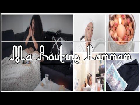Ma Routine Hammam à la maison |  5 Masques 100% Naturel - fait maison  | الحمام المغربي في البيت