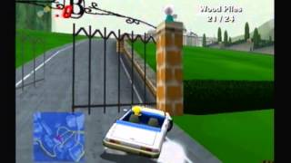Let's Play The Simpsons: Road Rage - Mission Mode