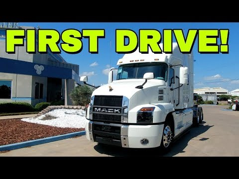 Bad Beast! 2018 Mack Anthem Semi Drive!