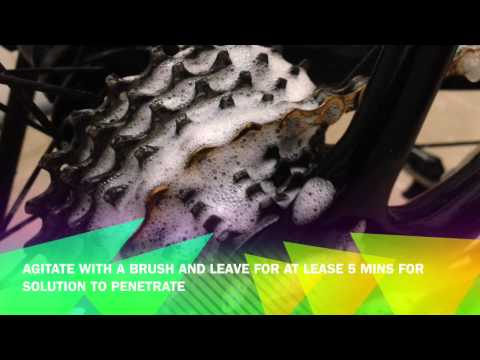 Bicycle cleaning/degreasing DIY using what you have at home...