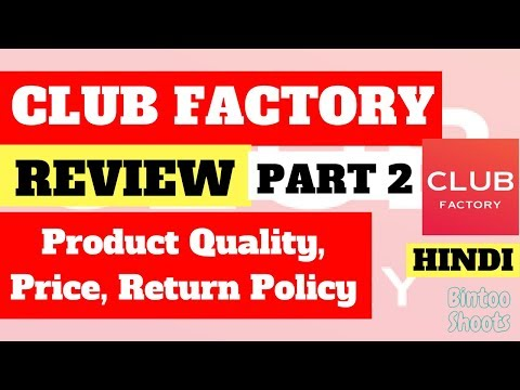 CLUB Factory Review Part 2   Quality, Price, Return Policy, Verdict   India   Hindi   BintooShoots