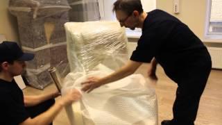 Упаковка кресла | Готовимся к переезду(Главный принцип компании «Переезд24» заключается в том, чтобы именно Ваш переезд прошел быстро, качественн..., 2016-03-13T04:23:32.000Z)
