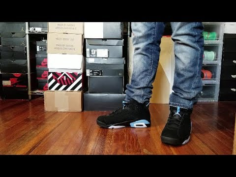 d2f3f76505a04d AIR JORDAN 6 UNC REVIEW + ON FEET - YouTube