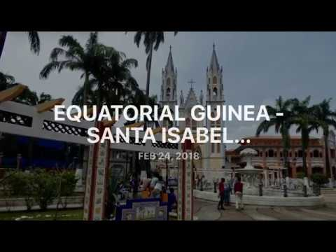 Equatorial Guinea - Catedral de Santa Isabel in Malabo