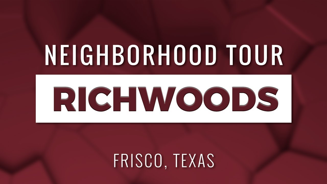 Richwoods of Frisco TX Neighborhood Community Tour | Master Planned Community