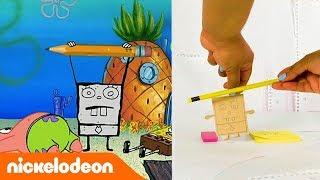 Губка Боб Квадратные Штаны | Губка Боб в реальной жизни. Часть 3 | Nickelodeon Россия