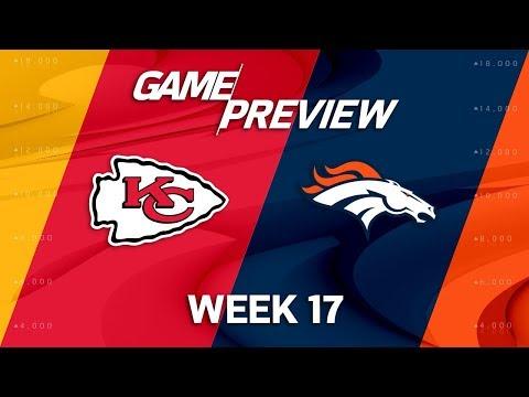 Kansas City Chiefs vs. Denver Broncos   NFL Week 17 Game Preview   NFL Playbook