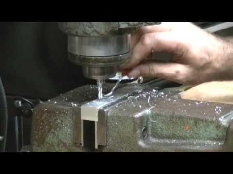 Milling aluminum brackets Edit