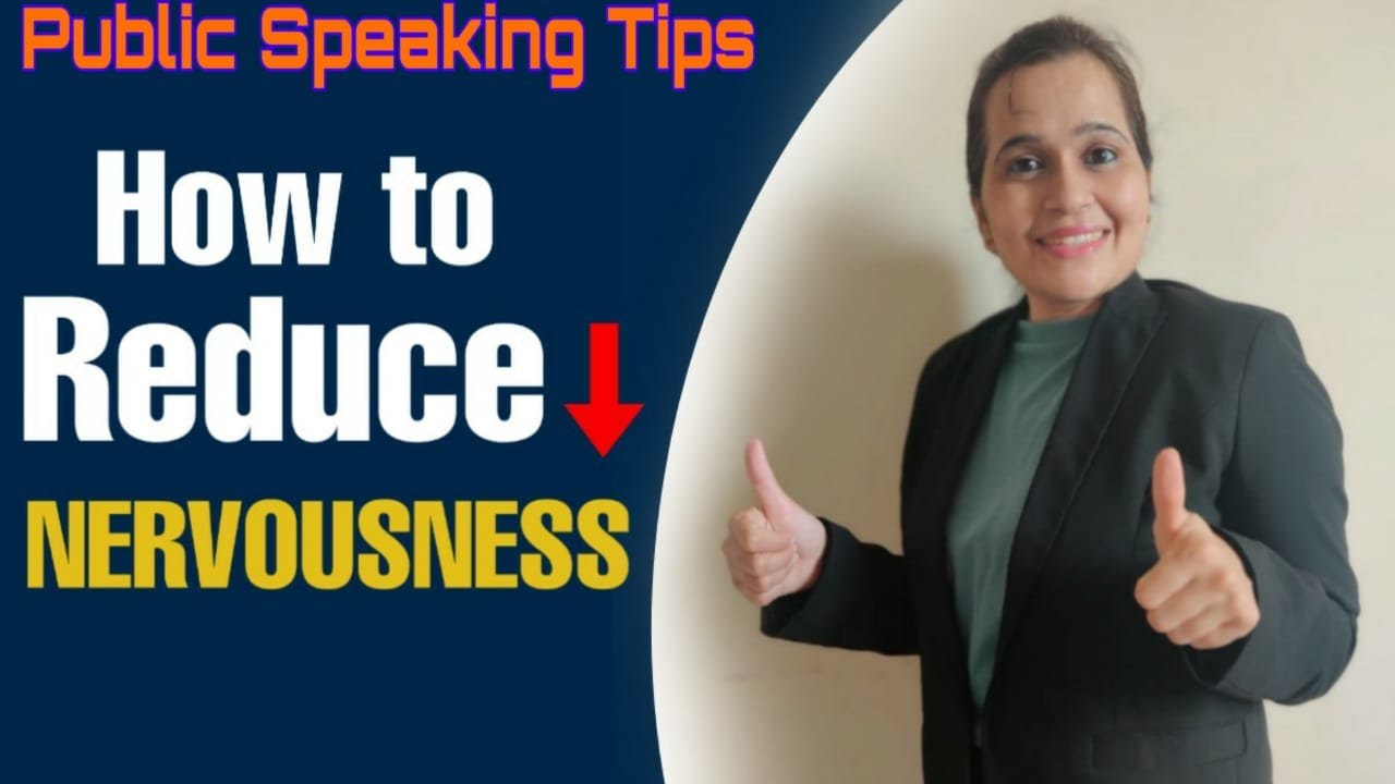 How to reduce your nervousness using the 3P's ||Public ...