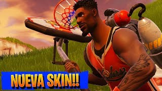 THE NUEVA SKIN OF BASKETBALL!! | FORTNITE BATTLE ROYALE Rubinho vlc