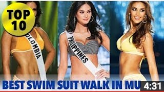 Video TOP 10 Best in Swimsuit Walk in the History of Miss Universe - SWIMSUIT - FULL HD download MP3, 3GP, MP4, WEBM, AVI, FLV Mei 2018