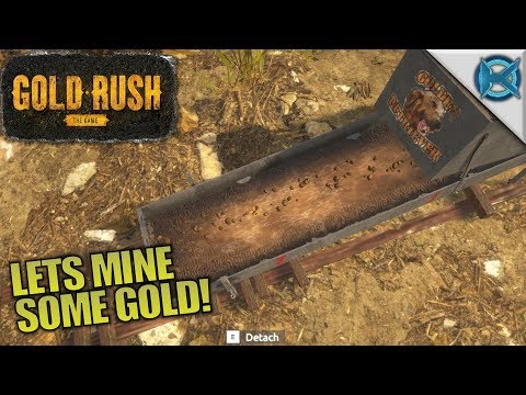 LETS MINE SOME GOLD!   Gold Rush: The Game   Let's Play Gameplay   S01E01