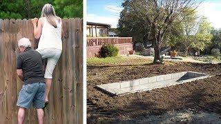 Всем было интересно: Что же строит сосед?