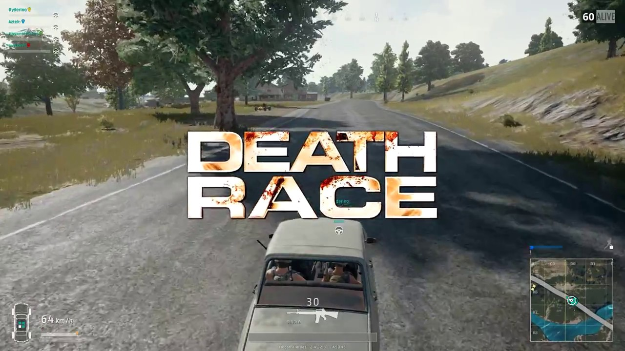 Playerunknown S Battlegrounds Death Race Youtube
