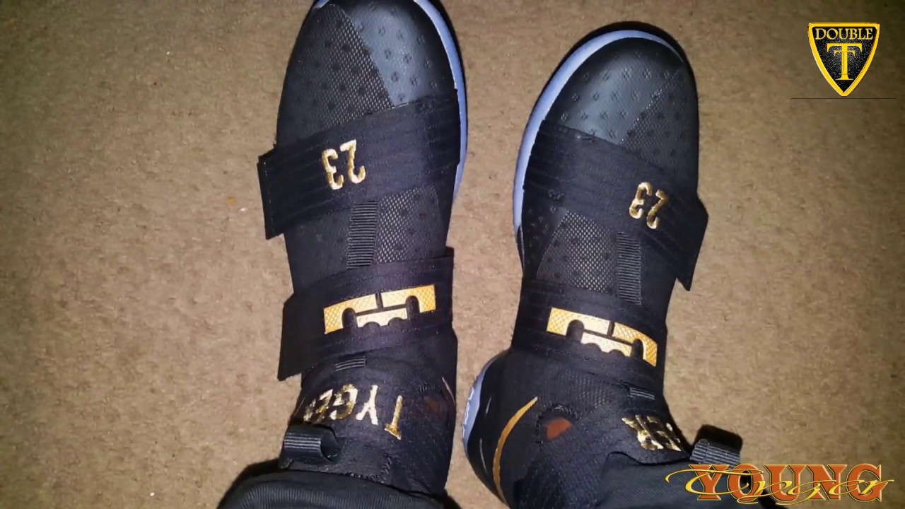 7ecbbec77bbf6 new zealand nike zoom lebron soldier 10 game 7 on feet fad2d f4f7f