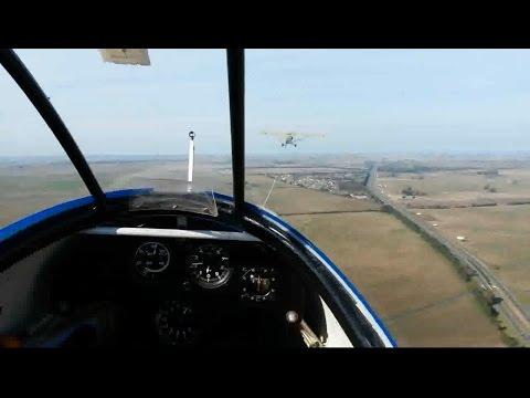 Club de planeadores La Plata volando en aeroclub Gomez