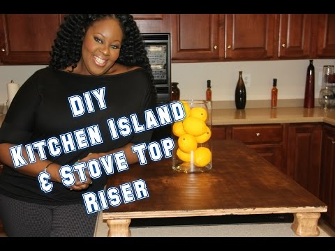 DIY Island Riser/Kitchen Makeover Series Part 1 | I Am TeeJaay Home Edition