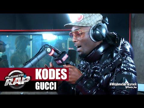 Youtube: [Exclu] Kodes « Gucci » #PlanèteRap