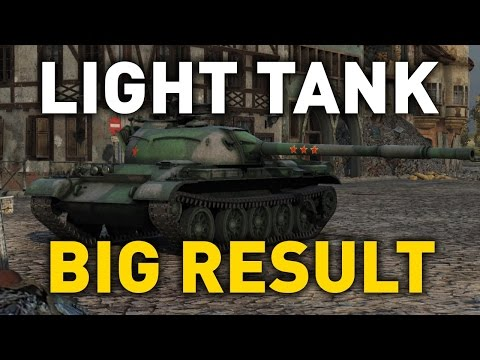 World of Tanks || Light Tank, Big Result