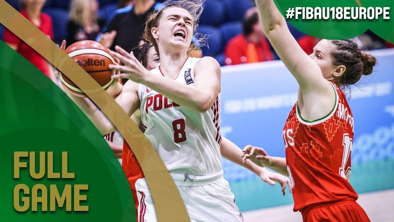 Poland v Belarus - Full Game - Quarter-Final - FIBA U18 Women's European Championship 2017 - DIV B