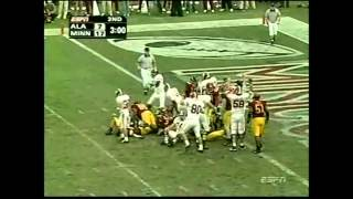 2004 Music City Bowl - Alabama vs. Minnesota Highlights