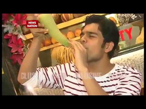 Serial Aur Cinema: Bhavya Gandhi aka Tappu shows tricks to chill out in summer