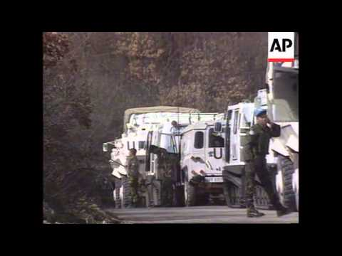Bosnia - Malaysian Batallion Head For Srebrenica