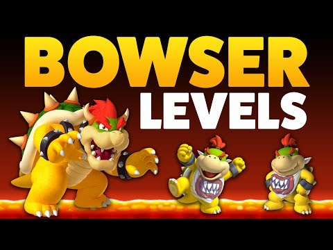 Super Mario Maker - BOWSERS! - Enemy Creation Challenge [#9]
