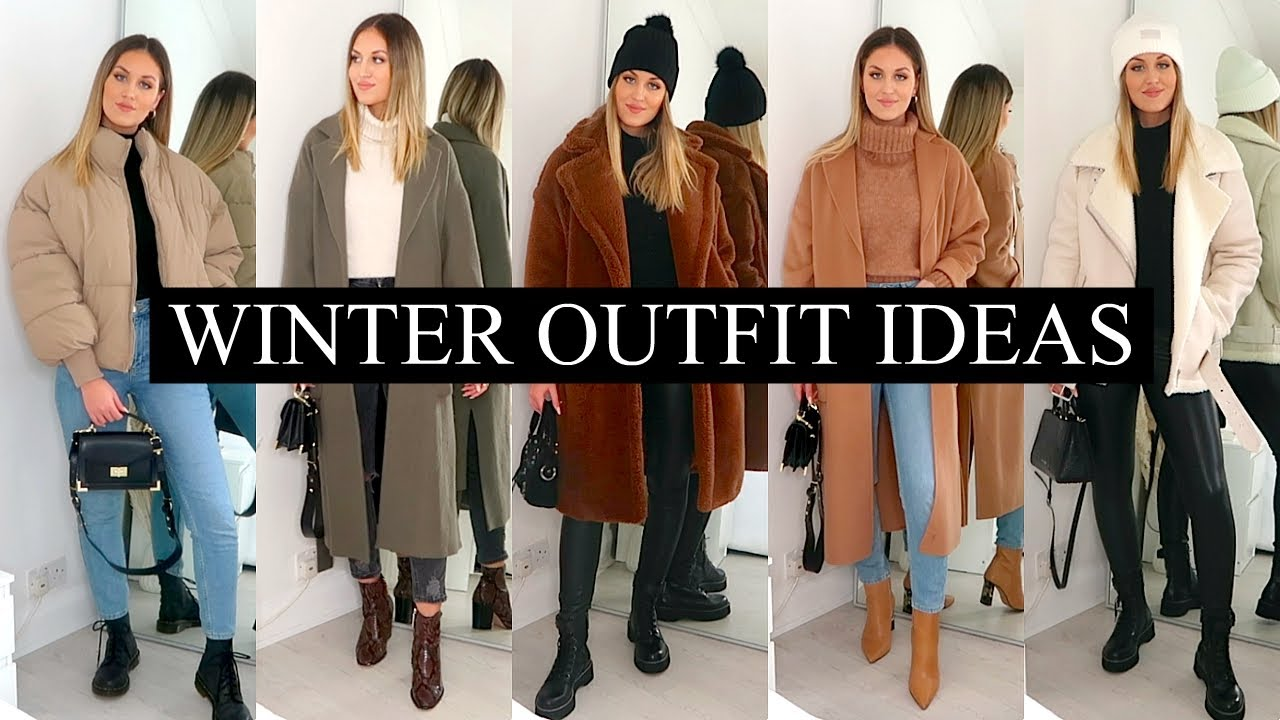 CASUAL WINTER OUTFIT IDEAS 21  COZY & WARM  LAYERING