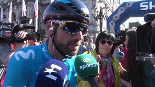Alejandro Valverde - entrevista en la salida - Amstel Gold Race 2018