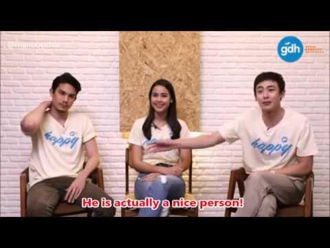 [ENG SUB] 171113 Sunny, Nichkhun, Yaya - Facebook Live, GDH new movie