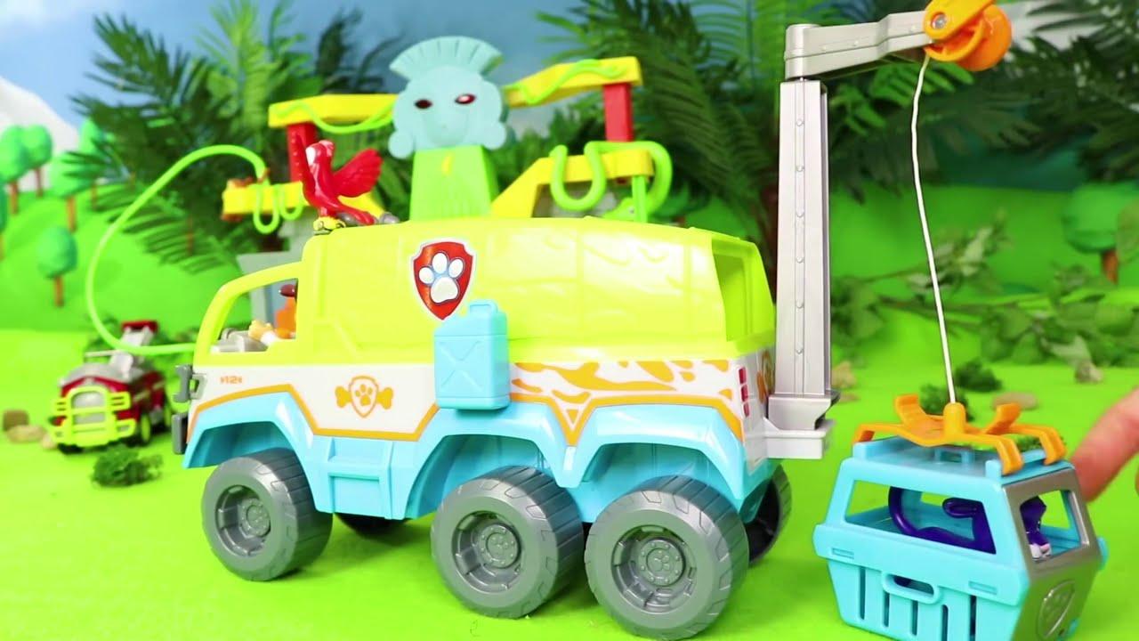 Pat' Patrouille jouets Mission de sauvetage de pompier de Marcus - Paw  Patrol Toys