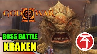 God Of War II - BOSS BATTLE: KRATOS VS KRAKEN