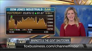 Could the partial government shutdown throw cold water on the markets?
