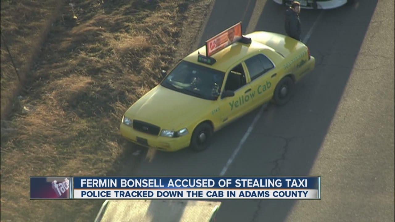Yellow Cab Denver >> Man Arrested In Cab Jacking In Denver Youtube