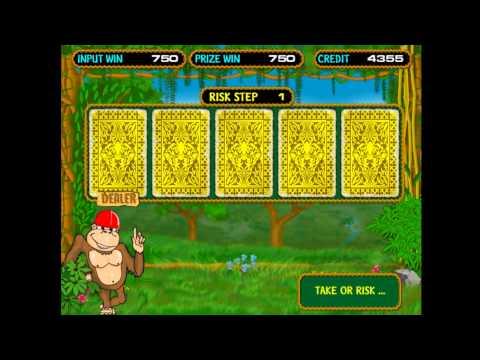 Видео Игровые автоматы monkey онлайн