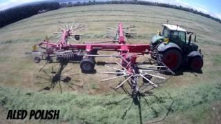 John Clark Contracting NZ Chopping Grass 2016