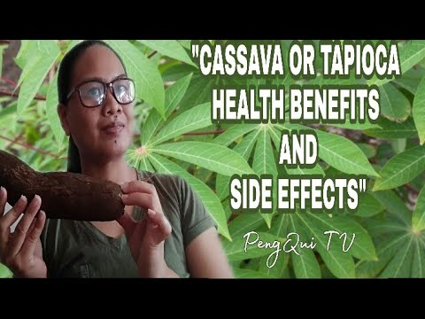CASSAVA OR TAPIOCA HEALTH BENEFITS AND SIDE EFFECTS