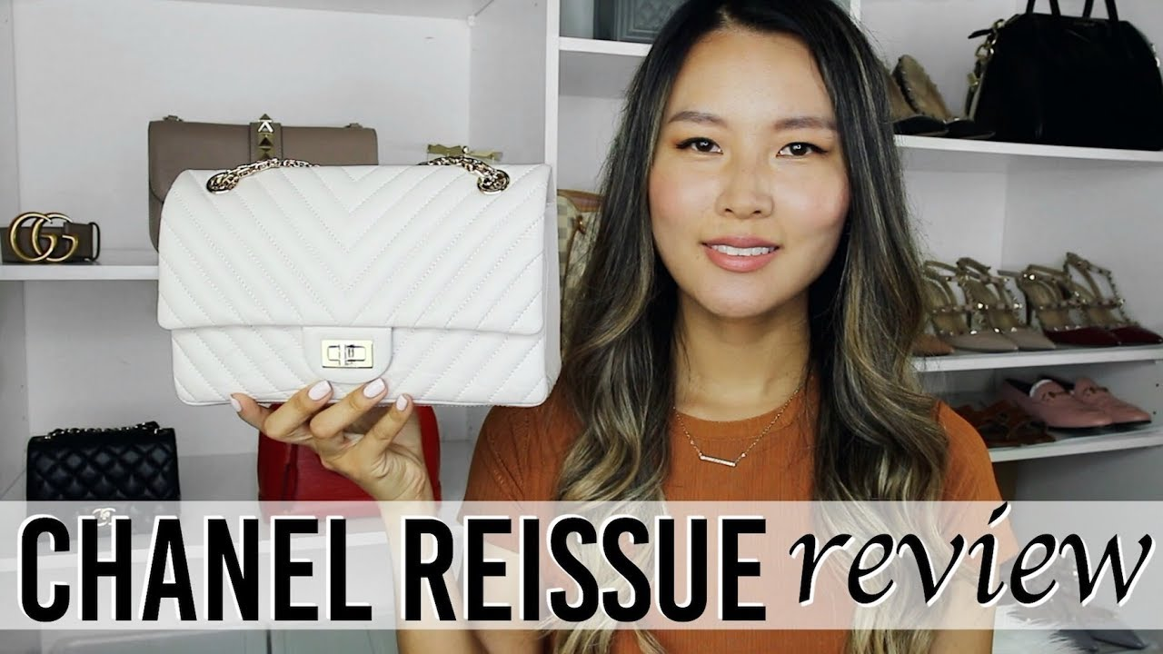 87231a9168db CHANEL REISSUE 225 review | Comparison with Classic flap, What fits, mod  shots