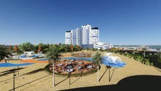 Projet de fin d'étude conception d'un Hôtel de luxe à zeralda