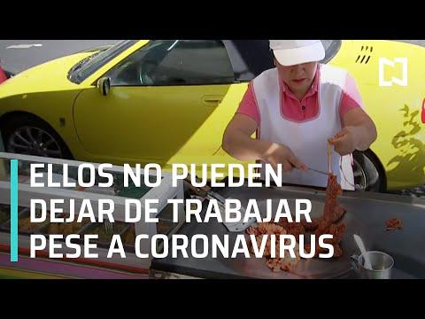 Comerciantes afectados por Coronavirus en México - En Punto